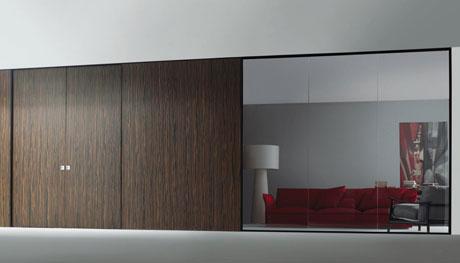 Le pareti mobili in casa e ufficio - Pareti mobili divisorie per casa ...